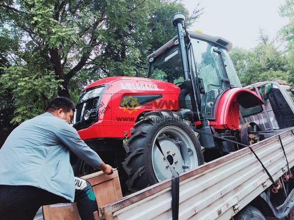 PNG 1 HONGXIN HX1212 Wood Chipper 1 LUTONG LT1004 Tractor