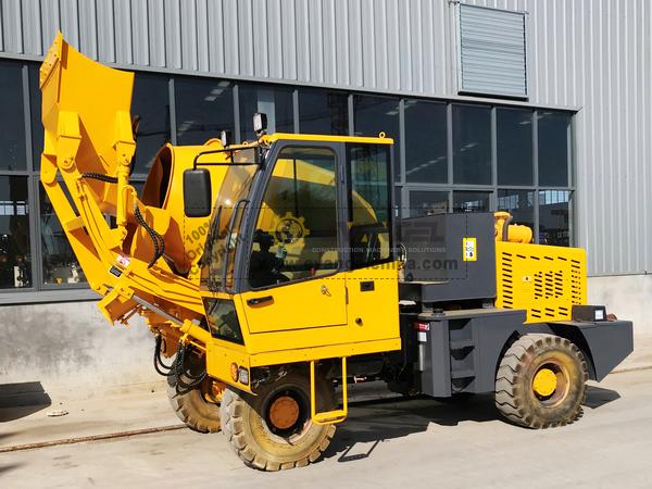 2 Units HY160 Self-Loading Concrete Mixer
