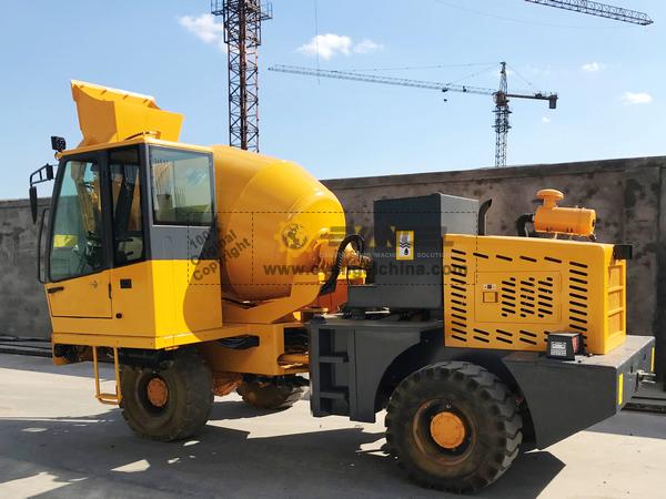 Zimbabwe - 2 Units HY160 Self-Loading Concrete Mixer
