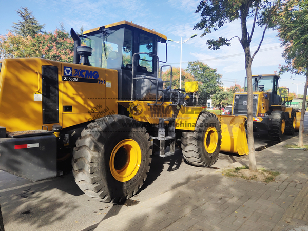 Philippines - 2 Units XCMG ZL50GN Wheel Loader