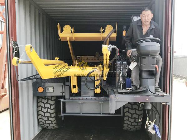 HONGYUAN Self-Feeding Mixer Truck