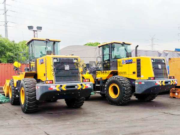 Philippines - 2 Units XCMG ZL50GN Wheel Loaders