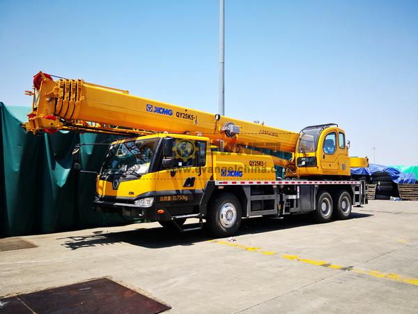 1 Unit XCMG Truck Crane QY25K5-I