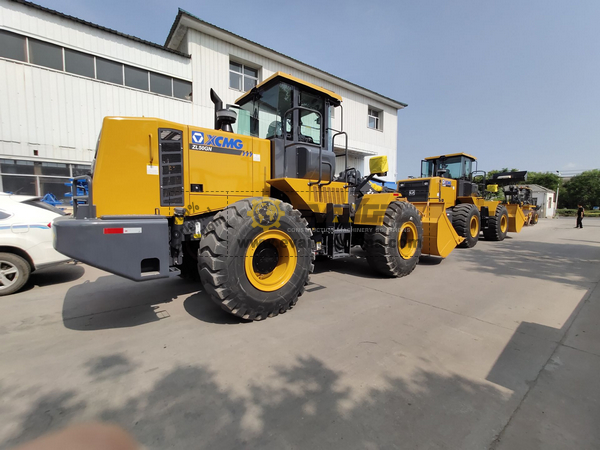 XCMG Wheel Loaders ZL50GN to Algeria