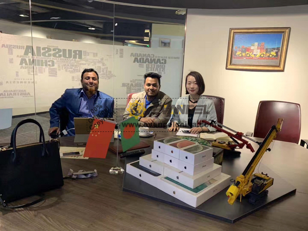 Bangladesh Client Visited Evangel Office