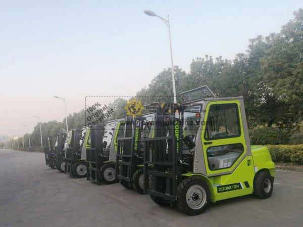 China - 6 Units ZOOMLION FD30 Forklift