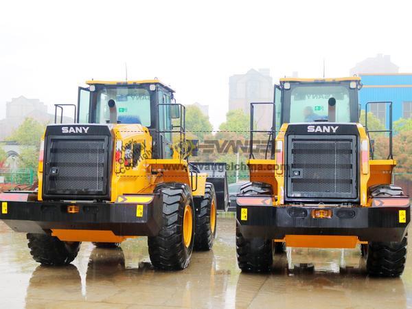 2 Units SANY Wheel Loader SYL956H5