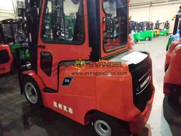 ZOOMLION forklift FD50 & HANGCHA Forklift CPD35