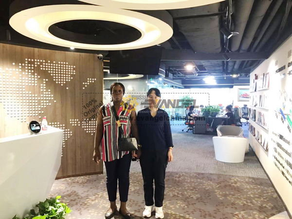 Australia Client Visited EVANGEL Office